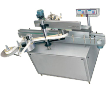 Automatic Two Side  Sticker (Self Adhesive) Labeling Machine for Round cum Flat Containers
