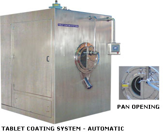 Tablet Coating System - Automatic